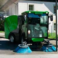 Boschung S2 URBAN SWEEPER