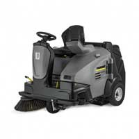 Karcher KM 105/100 Ride On Sweeper with Manual Dump